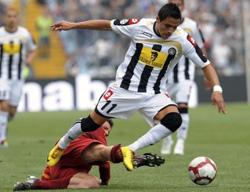 Udinese đã nỗ lực hết mình hòng giành suất vào Chung kết Coppa Italia.