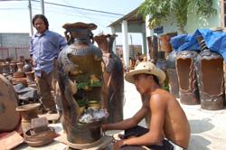 Gốm Bầu Trúc mang đậm nét đặc trưng của văn hóa Chăm