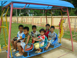 Trẻ em rất cần có điểm vui chơi lành mạnh, bổ ích