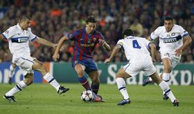 Ibrahimovic gây thất vọng trước các đồng đội cũ, kéo theo sự bế tắc chung của Barca.