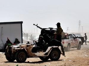 Quân nổi dậy tại Libya.
