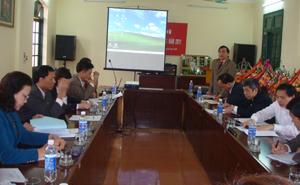 BCĐ liên ngành họp bàn kế hoạch hành động tháng VSATTP.