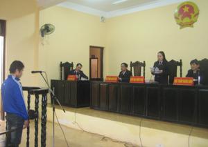 Công tác xét xử của TAND huyện Kim Bôi luôn đảm bảo đúng người, đúng tội.
