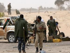 Tình hình chiến sự tại Libya.