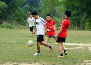 Giải thể thao của ĐV-TN huyện Đà Bắc thu hút được trên 150 VĐV tham gia.