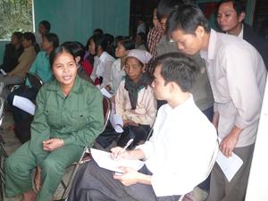 Nâng cao công tác tuyên truyền, phổ biến, giáo dục cho người dân cũng là một trong những biện pháp hữu hiệu ngăn chặn BLGĐ.
