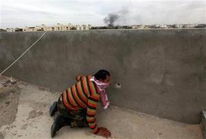 Từ 7 tuần qua, chiến sự vẫn tiếp tục diễn ra ác liệt tại Misrata, cách thủ đô Tripoli 220 km.