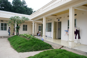 Khu nhà ở khang trang của CNLĐ Công ty TNHH nghiên cứu kỹ thuật R được đưa vào sử dụng từ cuối năm 2010.