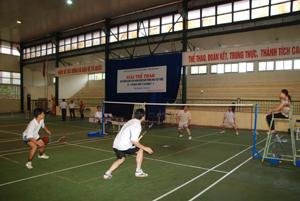 Các VĐV thi đấu ở trận chung kết.