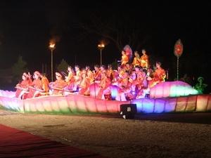 Cảnh trong Đên Hoàng Cung Huế 2010. (Ảnh: Quốc Việt/Vietnam+)