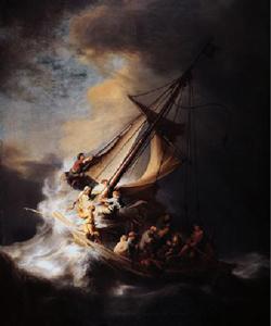 Bức tranh bão trên biển ga li lê
