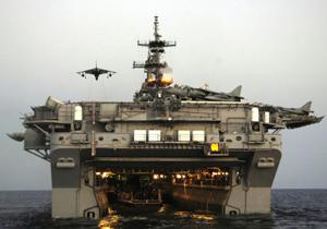 Tàu đổ bộ USS Essex lớp Wasp của Mỹ - Ảnh: US Navy