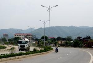 Đường Trương Hán Siêu đã tạo ra một diện mạo mới về hạ tầng xã hội cho phường Thịnh Lang trong những năm đổi mới.