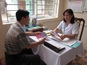Trung tâm YTDP tỉnh là địa chỉ tư vấn, tiêm vắc xin phòng dại cho người bệnh.