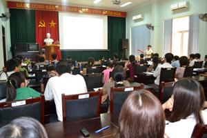 Hội nghị triển khai kế hoạch Tháng hành động vì chất lượng VSATTP năm 2013.