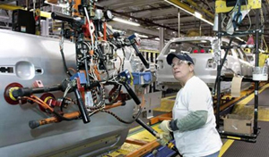 Hãng General Motors của Mỹ đạt doanh số bán ra 246 nghìn ô-tô trong tháng 3.