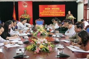 Đồng chí Nguyễn Văn Quang, Phó Bí thư TT Tỉnh uỷ, Chủ tịch HĐND tỉnh kết luận hội nghị.
