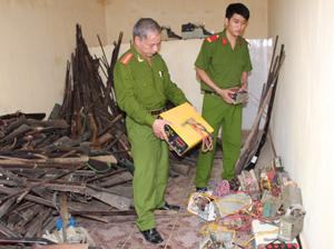 Từ cuối năm 2012 đến nay, Công an huyện Đà Bắc đã thu giữ được 47 bộ kích điện đánh cá.