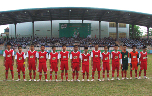 Đội bóng học sinh THCS tỉnh ta đã có 3 trận thắng, với nhiều cơ hội đoạt chức vô địch khu vực I toàn quốc.