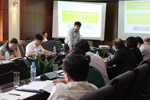 Đồng chí Nguyễn Văn Dũng – Phó Chủ tịch UBND, Trưởng BCĐ Dự án PSARD tỉnh chủ trì phiên họp.