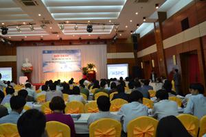 Toàn cảnh hội thảo ứng dụng CNTT trọng hoạt động cơ quan Nhà nước.
