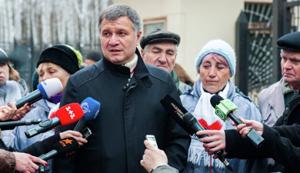 Bộ trưởng Nội vụ Ucraina Arsen Avakov