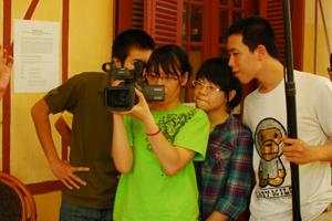 Điện ảnh đang thiếu nhân lực chất lượng cao. Ảnh: Đào tạo nhà làm phim trẻ tại Trung tâm TPD. (Ảnh TPD)
