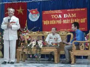 Các đại biểu tham gia chương trình tọa đàm.