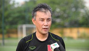 HLV trưởng ĐT nữ quốc gia, ông Norimatsu Takashi. (ảnh: Linh Phan/NDĐT)