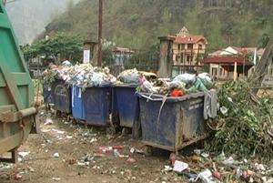 Nếu không có sự quan tâm đầu tư sớm, mức độ ô nhiễm môi trường ngay tại trung tâm thị trấn Mai Châu sẽ ngày càng nghiêm trọng.
