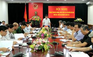 Đồng chí Nguyễn Văn Dũng, Phó Chủ tịch UBND tỉnh kết luận hội nghị.