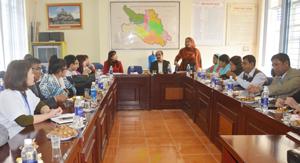 Đoàn đại biểu Bộ Y tế Bangladesh làm việc với Trung tâm chăm sóc sức khỏe sinh sản