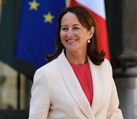 Bộ trưởng Môi trường Pháp Segolene Royal. (Ảnh: AFP)