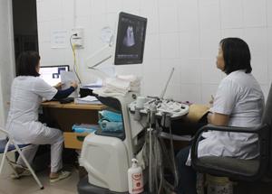 Trung tâm CSSKSS tỉnh đầu tư trang thiết bị hiện đại  đáp ứng nhu cầu cung cấp dịch vụ và tư vấn  quản lý thai nghén cho khách hàng.