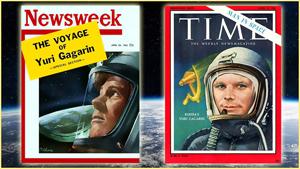Yuri Gagarin đã trở thành người anh hùng của thế giới.