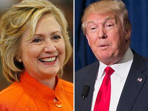 Hillary Clinton và Donald Trump (Ảnh: NYD).