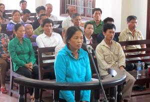 Chỉ một phút không kiềm chế được bản thân, Phạm Thị Kim đã phải nhận một bài học thích đáng.