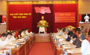 Giao ban chuyên đề về công tác tổ chức xây dựng Đảng và hệ thống chính trị