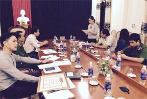 Đoàn kiểm tra liên ngành kiểm tra BCĐ Tuần lễ quốc gia ATVSLĐ- PCCN huyện Mai Châu.