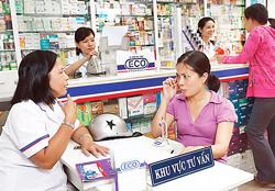 Bệnh nhân được tư vấn mua thuốc và sử dụng thuốc tại chuỗi nhà thuốc ECO