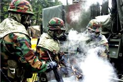 Quân đội Hàn Quốc được đặt trong trạng thái sẵn sàng .