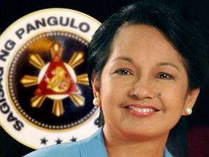Tổng thống Philippines Gloria Arroyo.