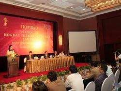 Họp báo phát động cuộc thi Hoa hậu Thế giới người Việt 2010 do Vinpearl Land đăng cai tổ chức