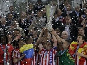 Atletico Madrid đã chấm dứt cơn khát 10 năm không danh hiệu.