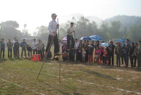 Mai Châu chú trọng giữ gìn các môn thể thao dân tộc.