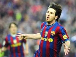 Lionel Messi đã trở thành chủ nhân của giải thưởng cao quý Chiếc giày vàng châu Âu 2010