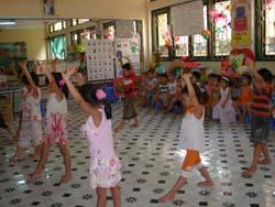 Học múa hoạt động vui tươi, bổ ích trong dịpp hè cho thiếu nhi