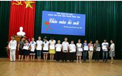 14 em học sinh giỏi năm học 2009-2010 tại Trung tâm HĐTTN tỉnh được nhận học bổng