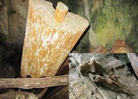 Những dấu tích huyền quan táng còn lại trong các hang động tại Thanh Hóa.