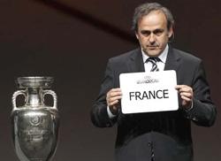 Pháp sẽ là chủ nhà Euro 2016